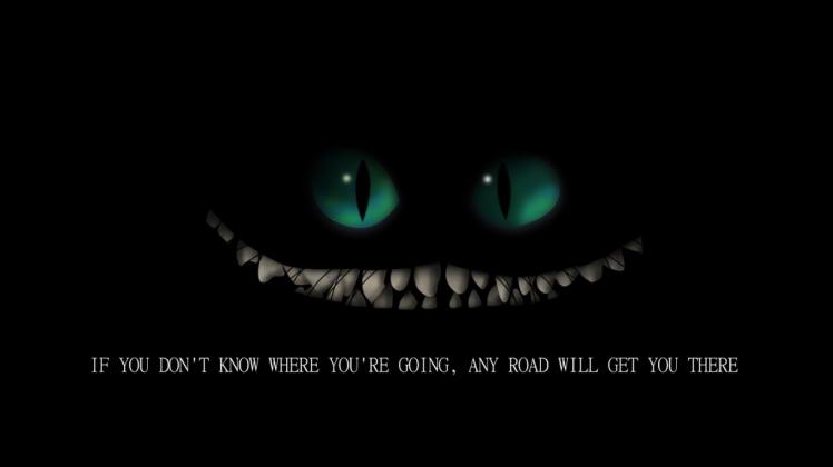 Alice In Wonderland Cheshire Cat Quote Alice In Wonderland Wallpaper Quotes Wallpapersafari